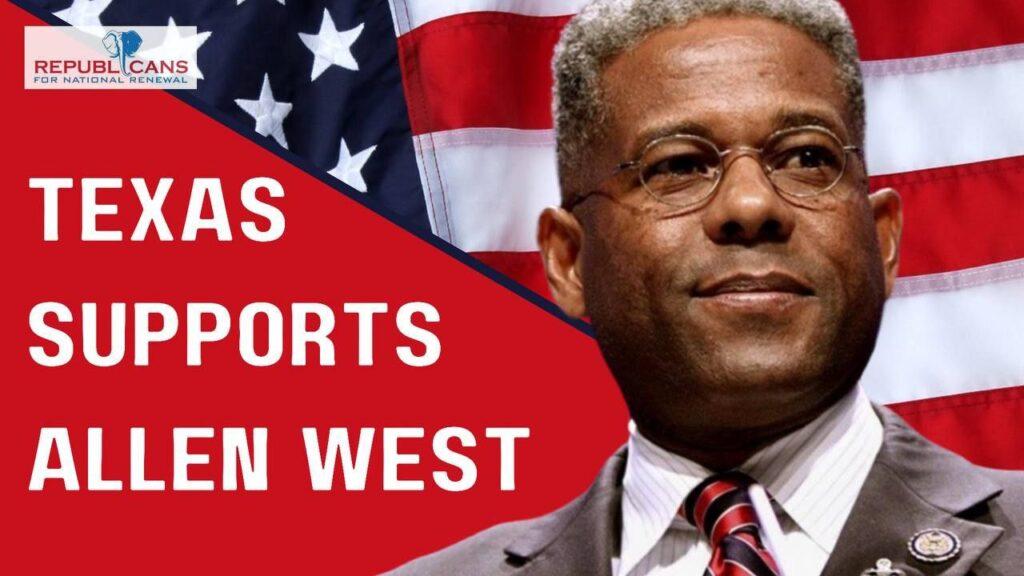 Allen West support image